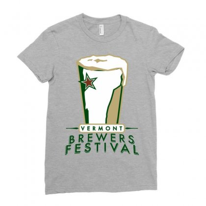 Brewers Festival Ladies Fitted T-shirt Designed By Ikankio