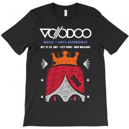 Voodoo Fest T-shirt Designed By Ikankio