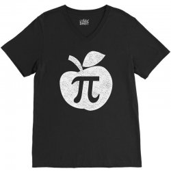 apple pie pi day V-Neck Tee | Artistshot