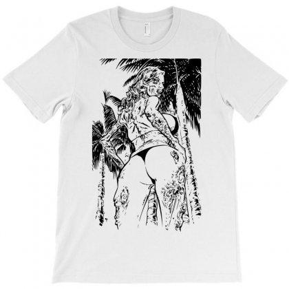 Zombie Girl T-shirt Designed By Sbm052017