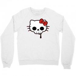 skull kitty Crewneck Sweatshirt   Artistshot