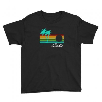 Cabo San Lucas Distressed Youth Tee Designed By Irvandwi2