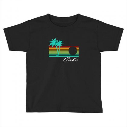 Cabo San Lucas Distressed Toddler T-shirt Designed By Irvandwi2