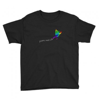 Butterfly Dreams Youth Tee Designed By Irvandwi2