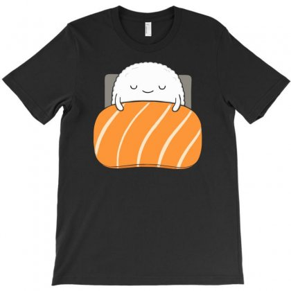 Sleepy Sushi T-shirt Designed By Denz