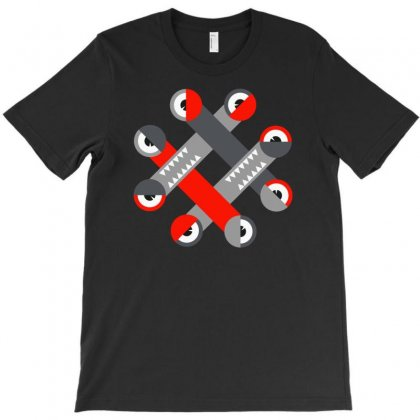 Sleepy Hashtag T-shirt Designed By Denz