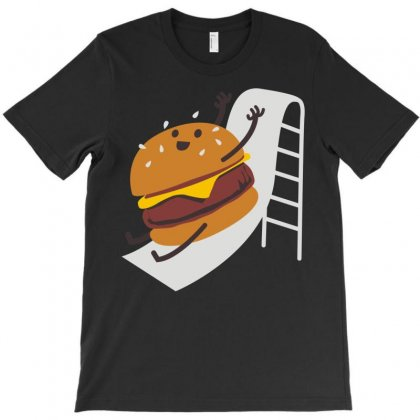 Slider Burger T-shirt Designed By Denz