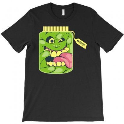 Slimer1 T-shirt Designed By Denz