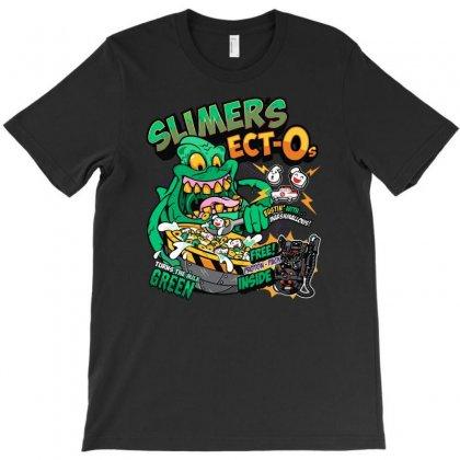 Slimer's Ect O's T-shirt Designed By Denz