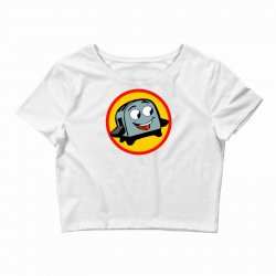 the brave little toaster to the rescue Crop Top | Artistshot