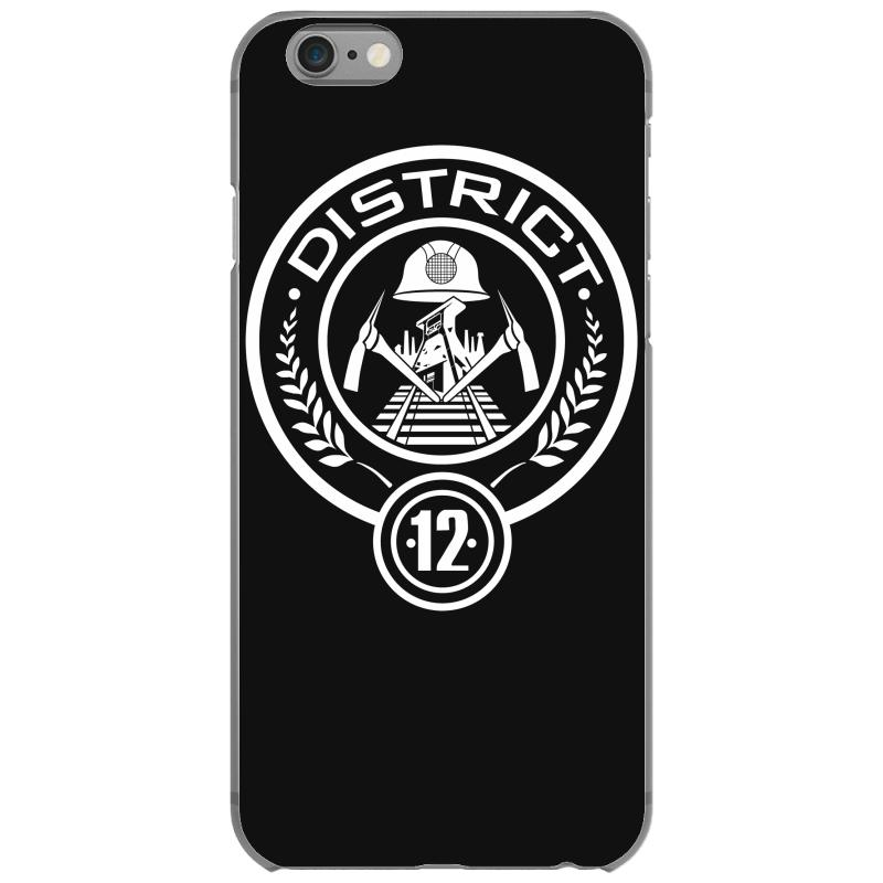 District 12 The Hunger Games iphone case