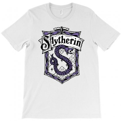 Slytherin Sigil T-shirt Designed By Denz