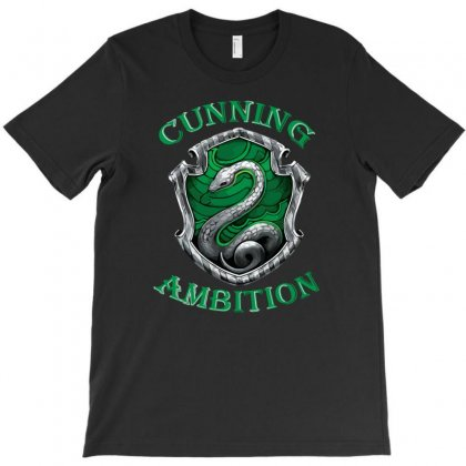 Slytherin T-shirt Designed By Denz