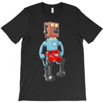 Smartphone Bot 8000 T-shirt Designed By Denz