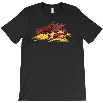 Smaug's Treasure T-shirt Designed By Denz