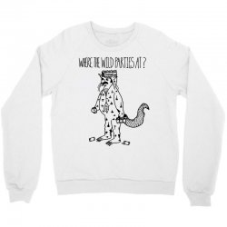 where the wild parties at Crewneck Sweatshirt | Artistshot