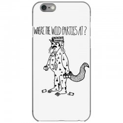where the wild parties at iPhone 6/6s Case | Artistshot