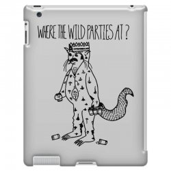 where the wild parties at iPad 3 and 4 Case | Artistshot