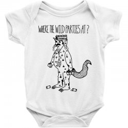 where the wild parties at Baby Bodysuit | Artistshot