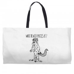 where the wild parties at Weekender Totes | Artistshot
