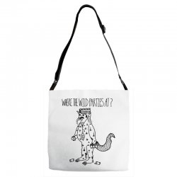 where the wild parties at Adjustable Strap Totes | Artistshot