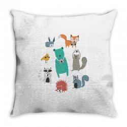 wildlife observation Throw Pillow | Artistshot