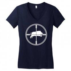 wild schwein Women's V-Neck T-Shirt | Artistshot