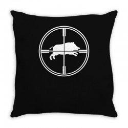 wild schwein Throw Pillow | Artistshot