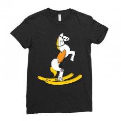 wild rocking horse Ladies Fitted T-Shirt | Artistshot