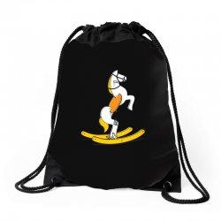 wild rocking horse Drawstring Bags | Artistshot