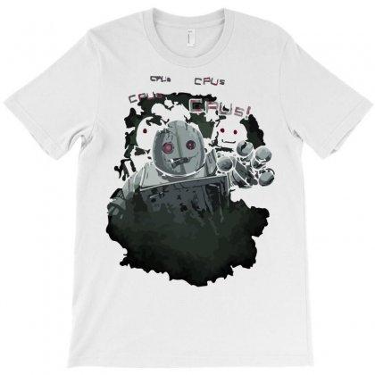 Zombie Robots T-shirt Designed By Irvandwi2