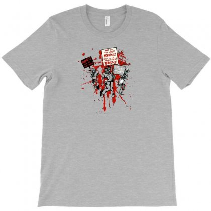 Zombie Protest T-shirt Designed By Irvandwi2