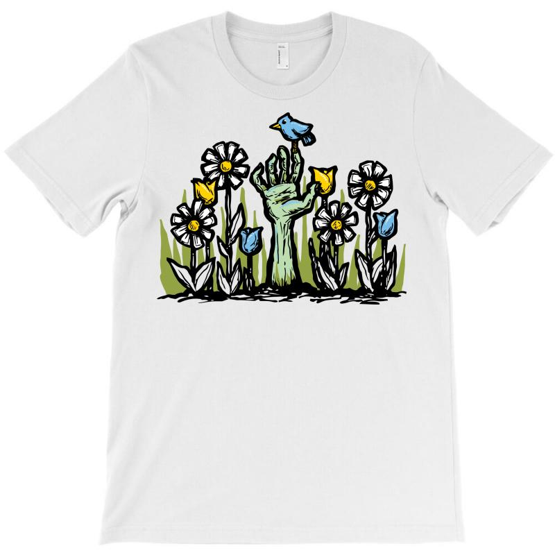 Zombie Garden T-shirt | Artistshot