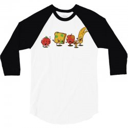 zombie food 3/4 Sleeve Shirt | Artistshot