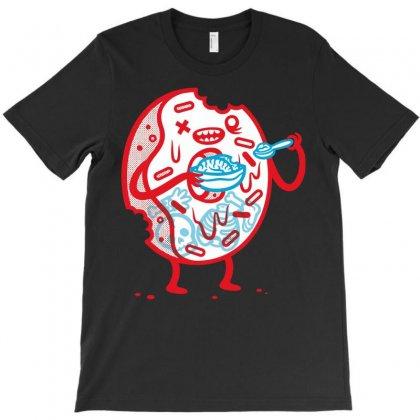 Zombie Donut T-shirt Designed By Irvandwi2