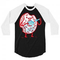 zombie donut 3/4 Sleeve Shirt | Artistshot