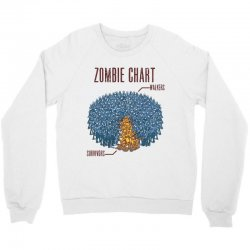 zombie chart Crewneck Sweatshirt | Artistshot