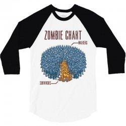 zombie chart 3/4 Sleeve Shirt | Artistshot