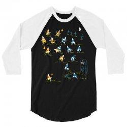 zombie candycorn 3/4 Sleeve Shirt | Artistshot