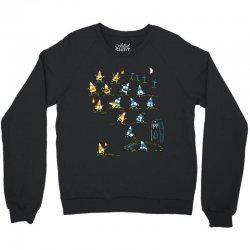 zombie candycorn Crewneck Sweatshirt | Artistshot