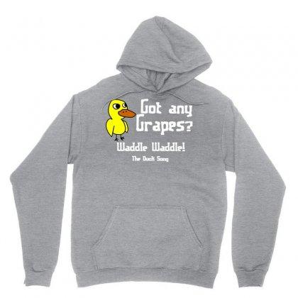 Duck Song Unisex Hoodie Designed By Mdk Art
