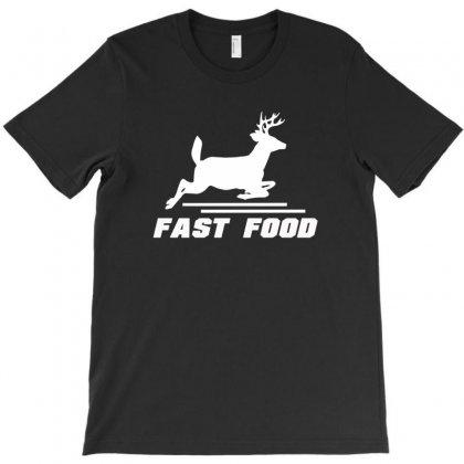 Fast Food Deer T-shirt Designed By Mdk Art
