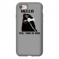 hello yes this is dog telephone phone iPhone 8 Case | Artistshot