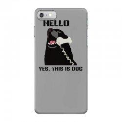 hello yes this is dog telephone phone iPhone 7 Case | Artistshot