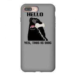 hello yes this is dog telephone phone iPhone 8 Plus Case | Artistshot