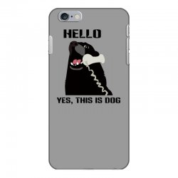 hello yes this is dog telephone phone iPhone 6 Plus/6s Plus Case | Artistshot