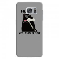 hello yes this is dog telephone phone Samsung Galaxy S7 Case | Artistshot