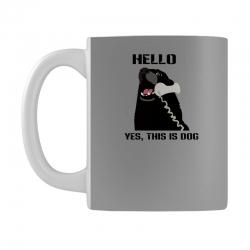 hello yes this is dog telephone phone Mug | Artistshot