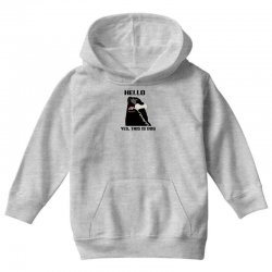 hello yes this is dog telephone phone Youth Hoodie | Artistshot