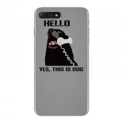 hello yes this is dog telephone phone iPhone 7 Plus Case | Artistshot